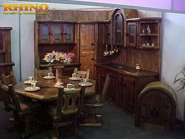 RHINO - Log Furniture