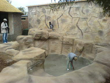 Rock Work pools